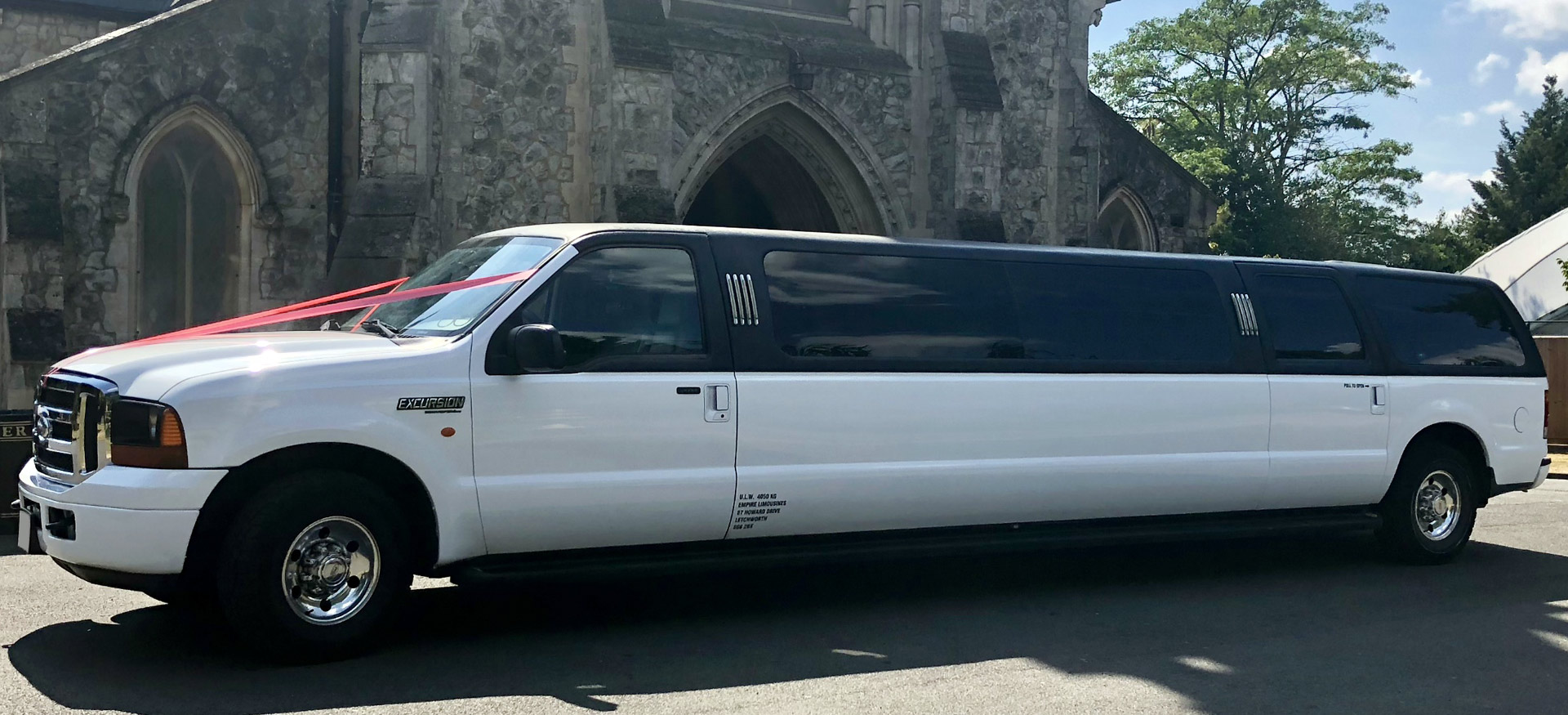 Super Stretched Excursion Limousine XL